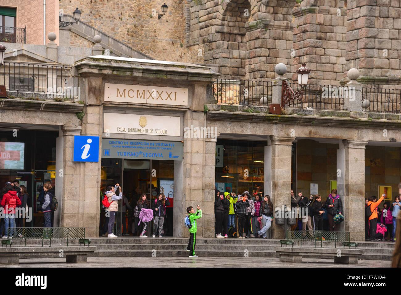 Turismo de Segovia, Spain - Stock Image