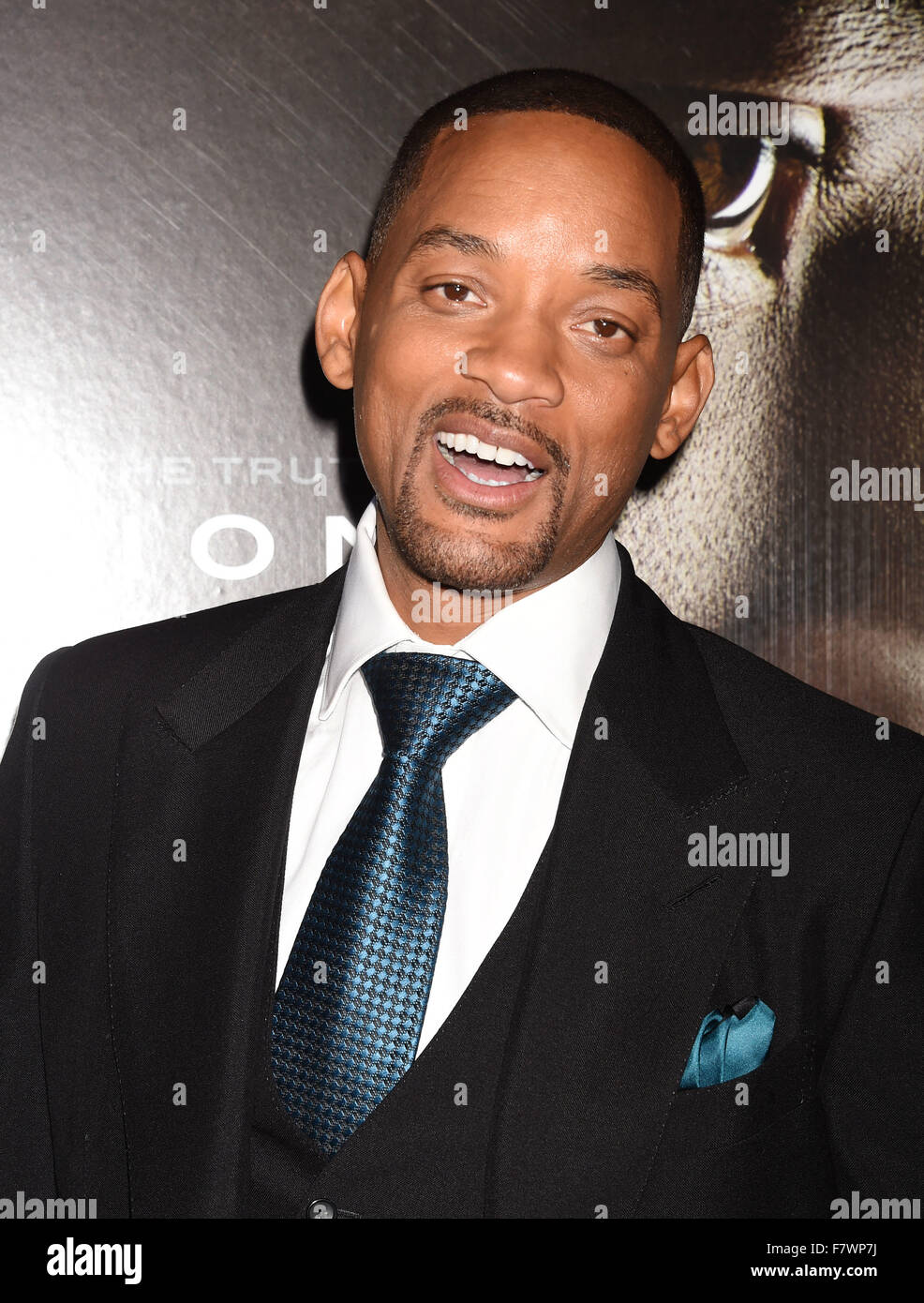 WILL SMITH US film actor in December 2015. Photo Jeffrey Mayer - Stock Image