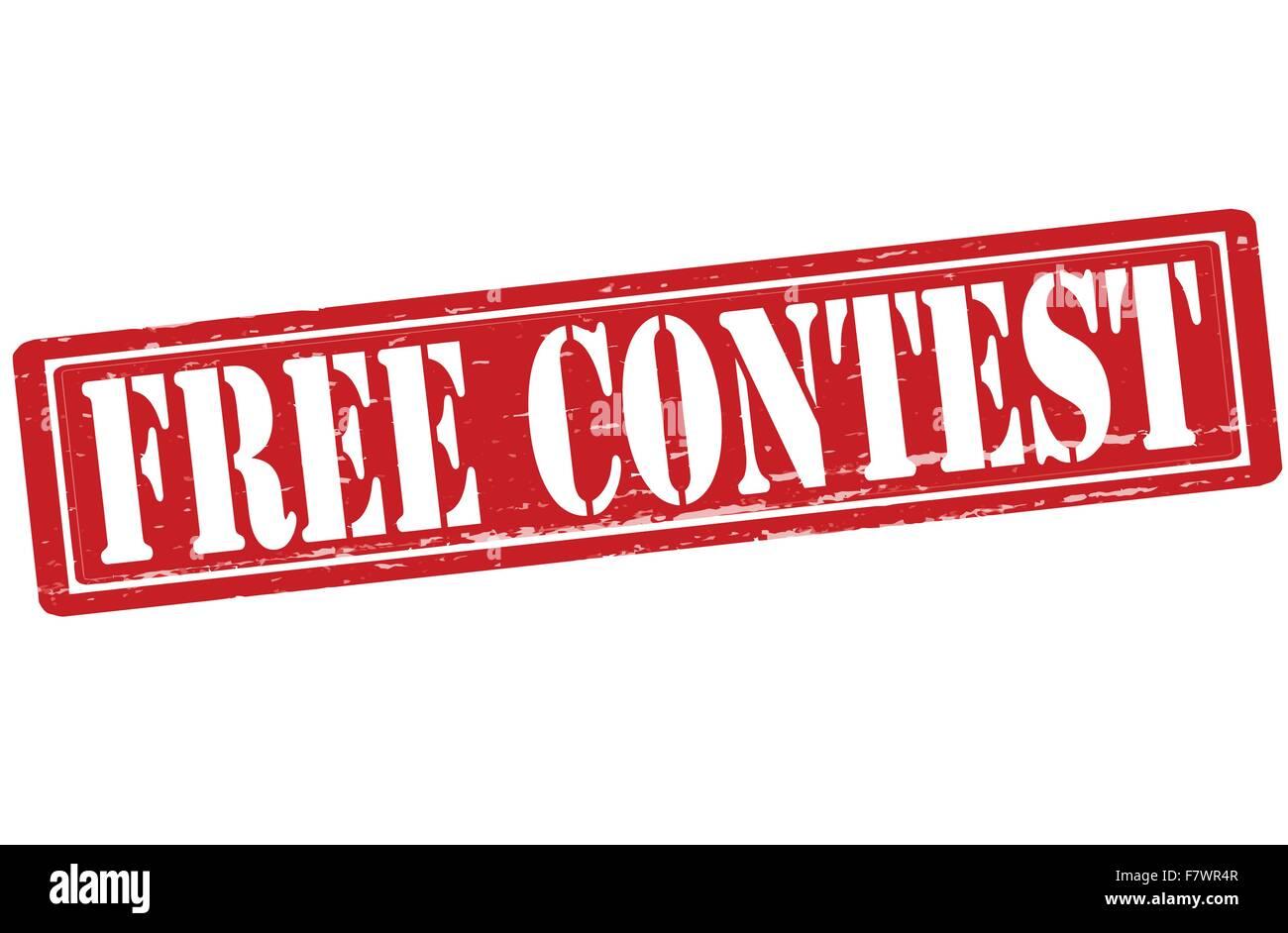 Free contest - Stock Image