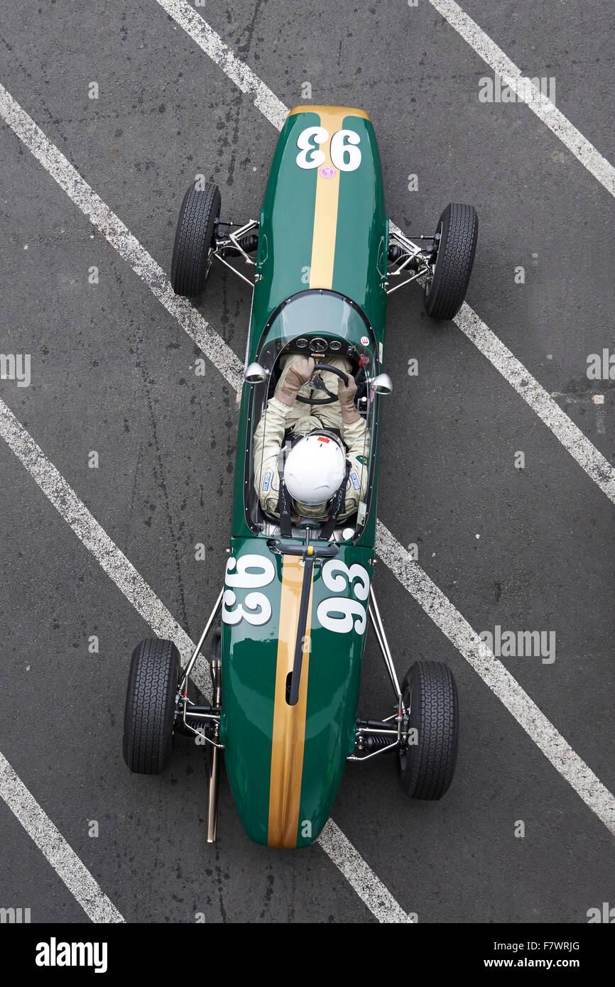 Brabham BT2,1963,Formular Junior,43. AvD-Oldtimer Grand  Prix 2015 ,Nürburgring - Stock Image