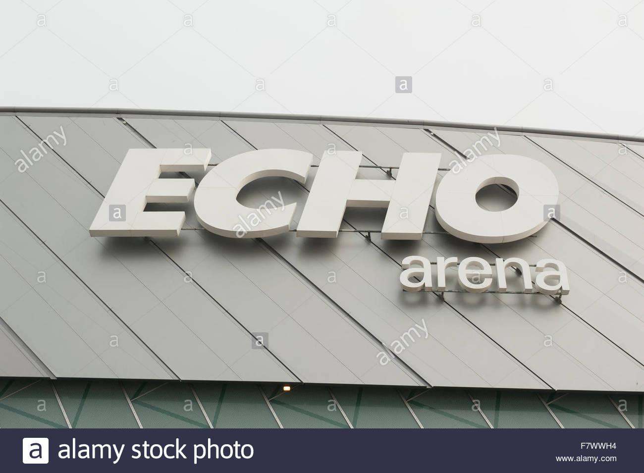 Liverpool UK Echo Arena venue - Stock Image