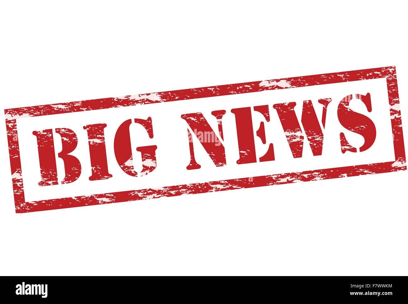 Big news - Stock Vector