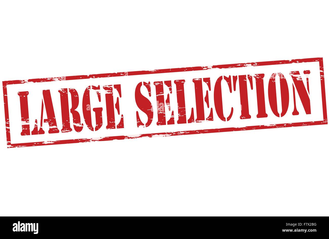 Large selection - Stock Vector