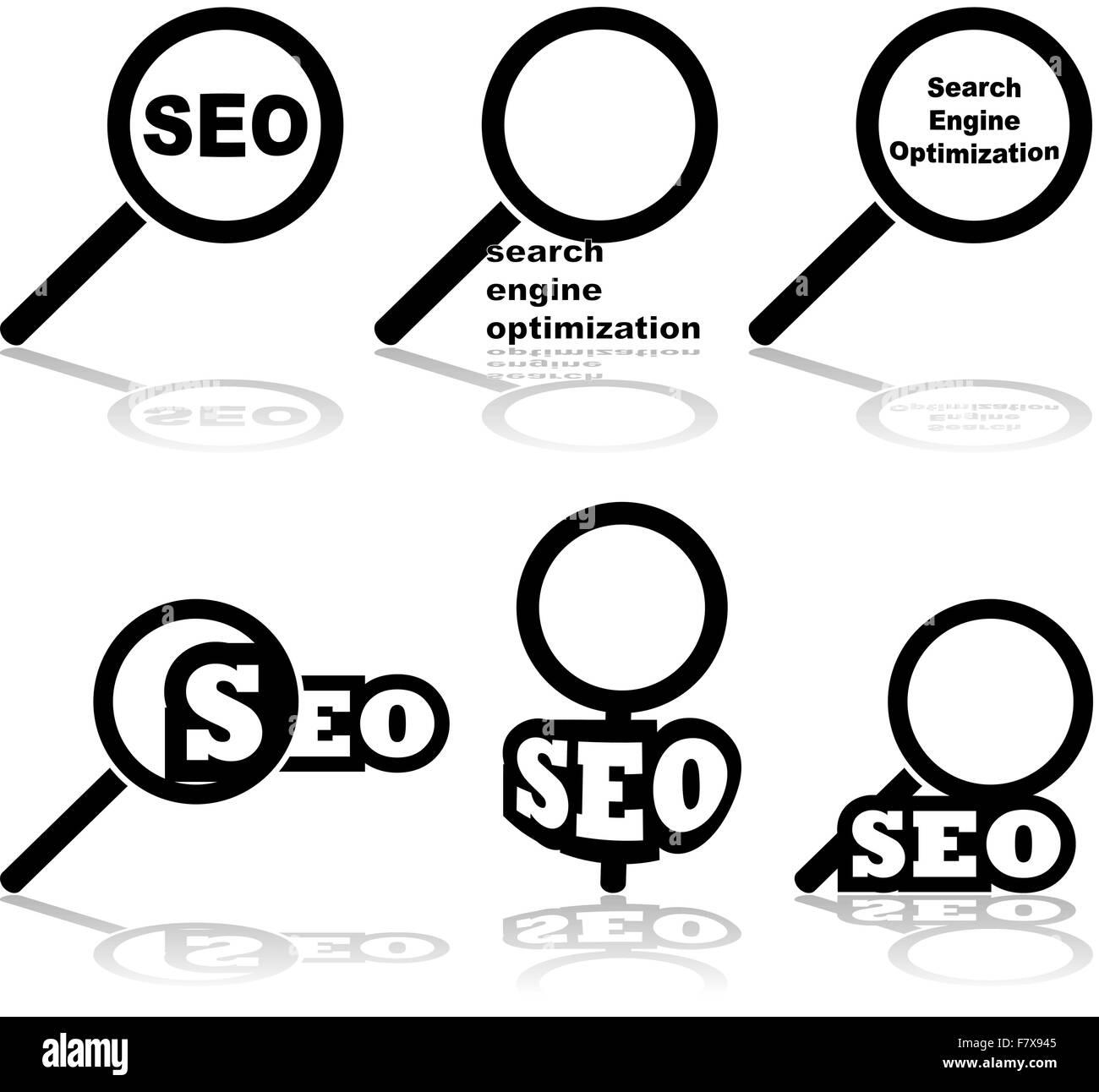 Search engine optimization - Stock Image