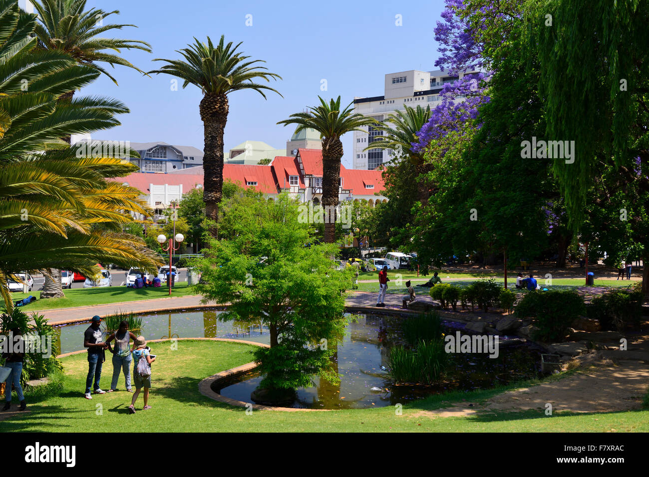 Zoo Park in downtown Windhoek, Namibia - Stock Image
