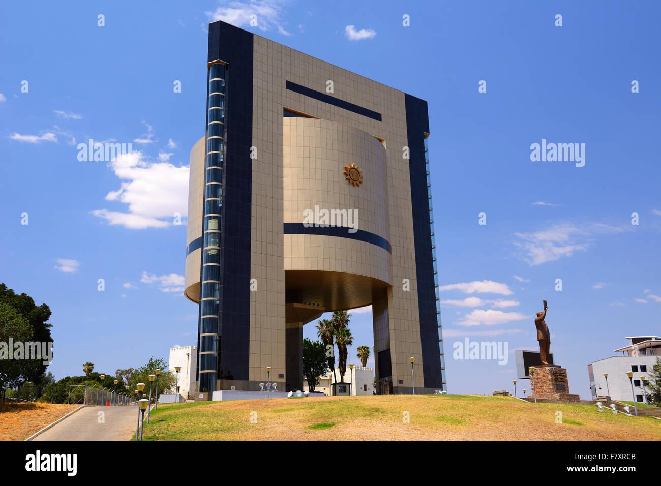 Independence Memorial Museum in Windhoek, Namibia - Stock Image