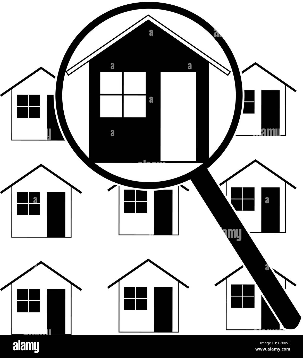 Home search - Stock Image