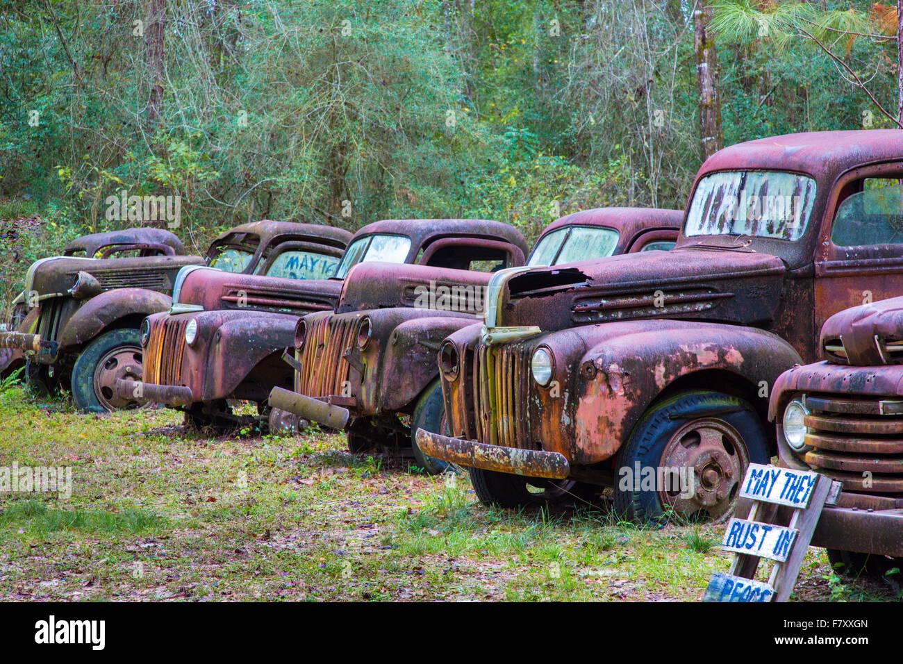 Rusty Old Trucks Stock Photos & Rusty Old Trucks Stock Images - Alamy