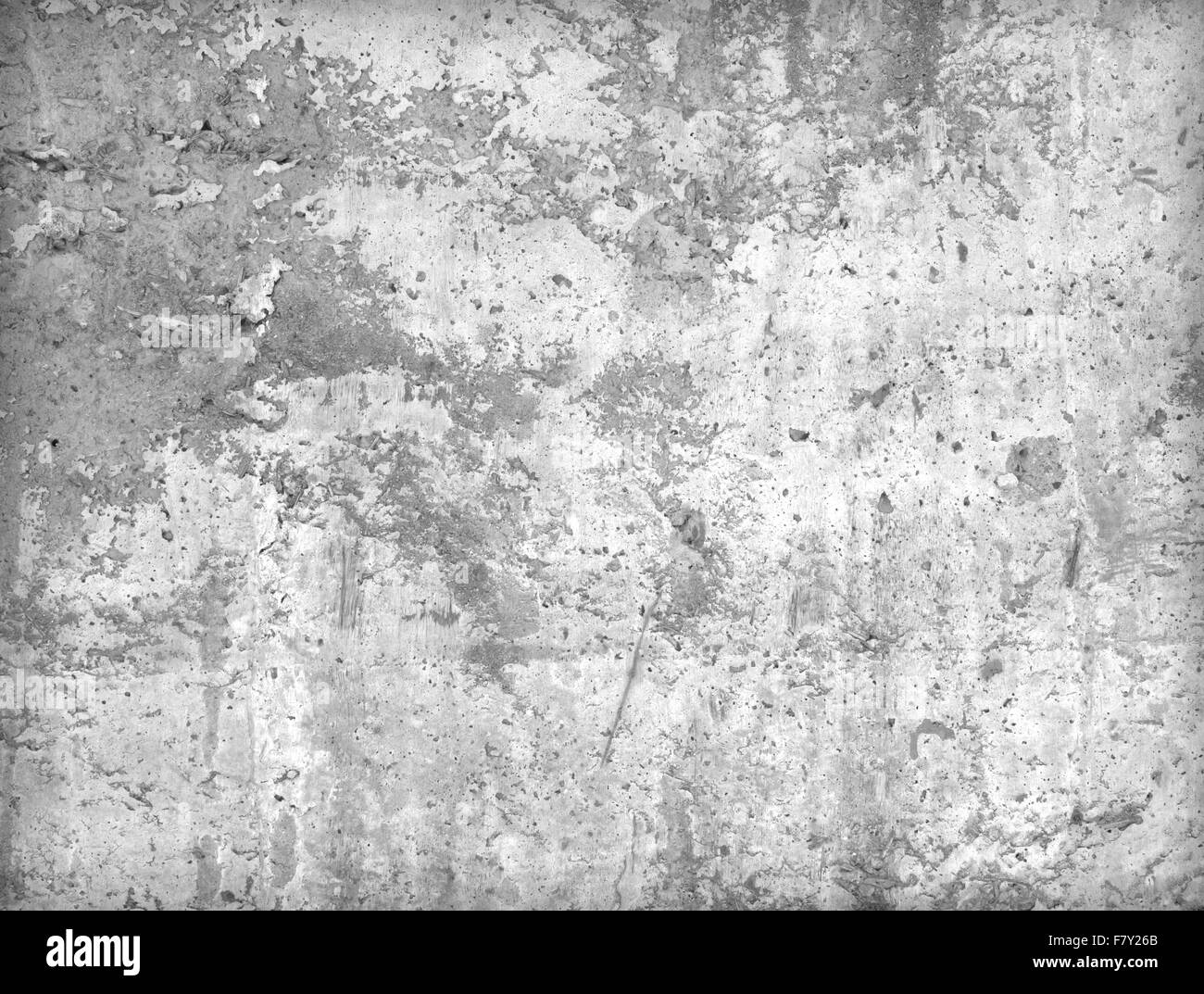 Cement walls weathered durability of the construction industry. - Stock Image