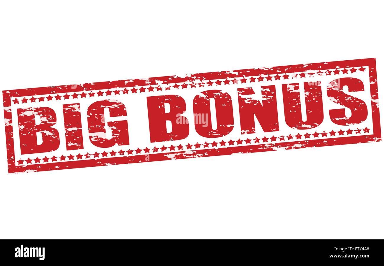 Big bonus - Stock Vector
