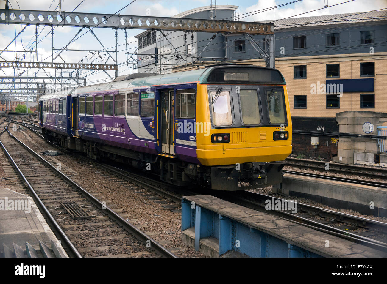 A British Rail Class 142 in Northernrail Livery - Stock Image