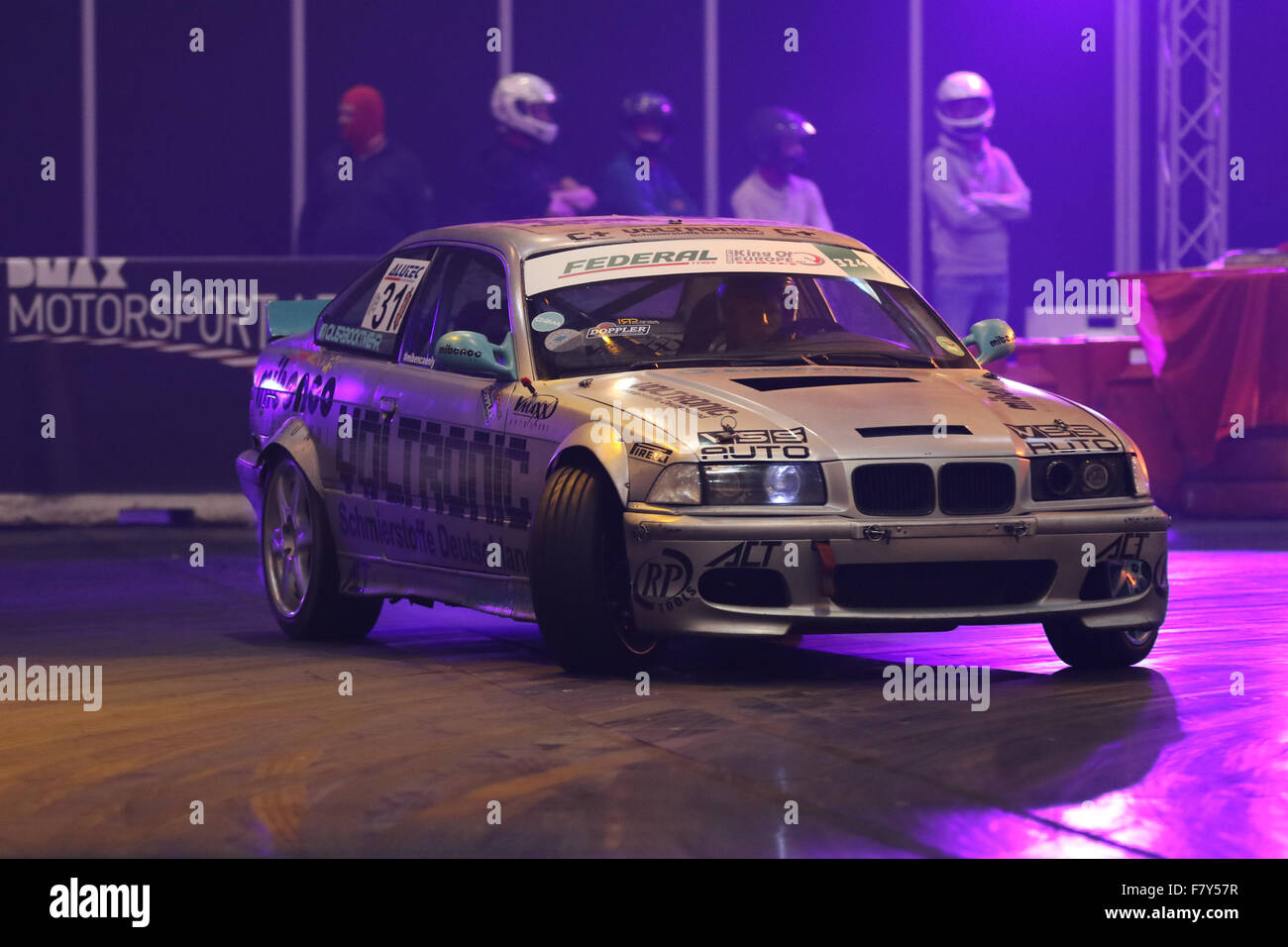 Essen, Germany. 3rd Dec,  2015. Essen Motor Show.  DMAX Motorsport Arena. Credit:  Ashley Greb/Alamy Live News - Stock Image