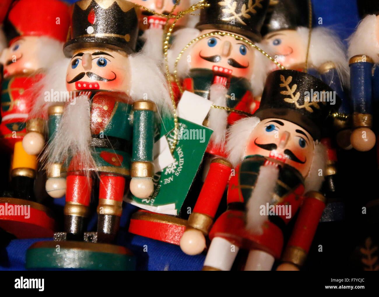 Christmas ornaments; nutcrackers Stock Photo: 90957060 - Alamy