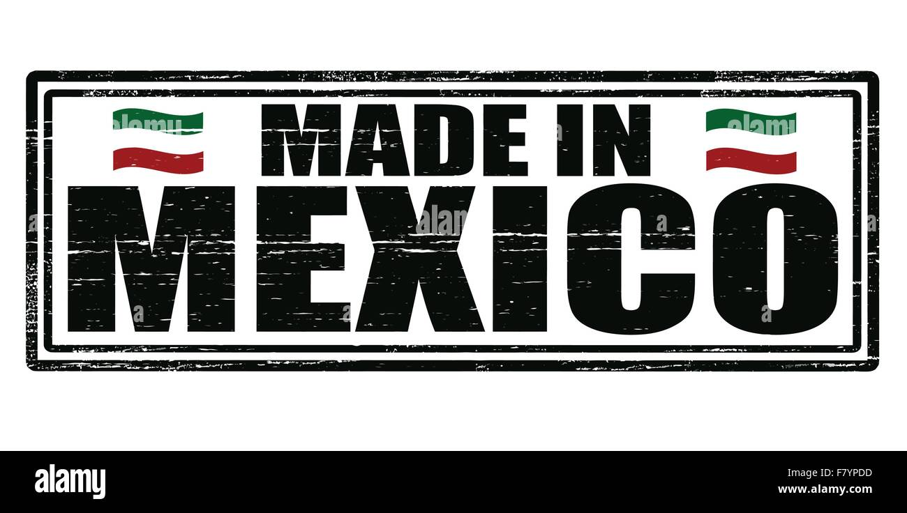 Made in Mexico - Stock Image