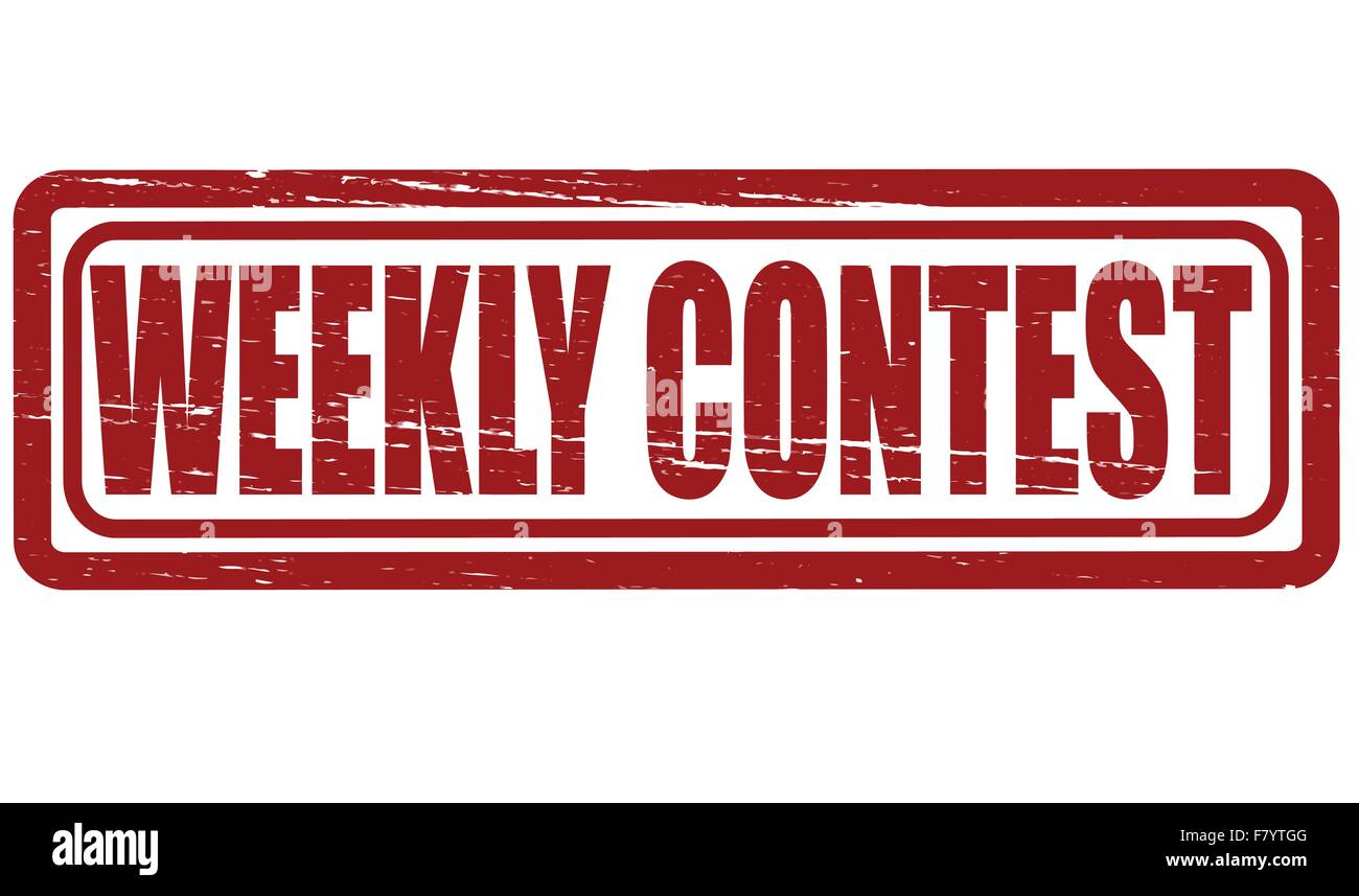Weekly contest - Stock Image
