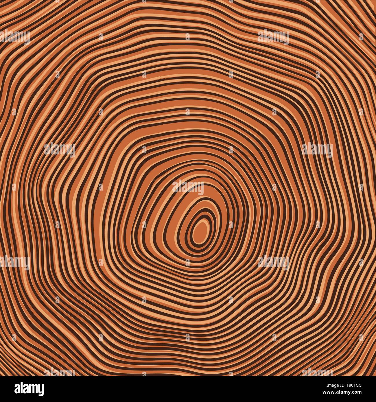 Tree rings background illustration. Color version - Stock Image