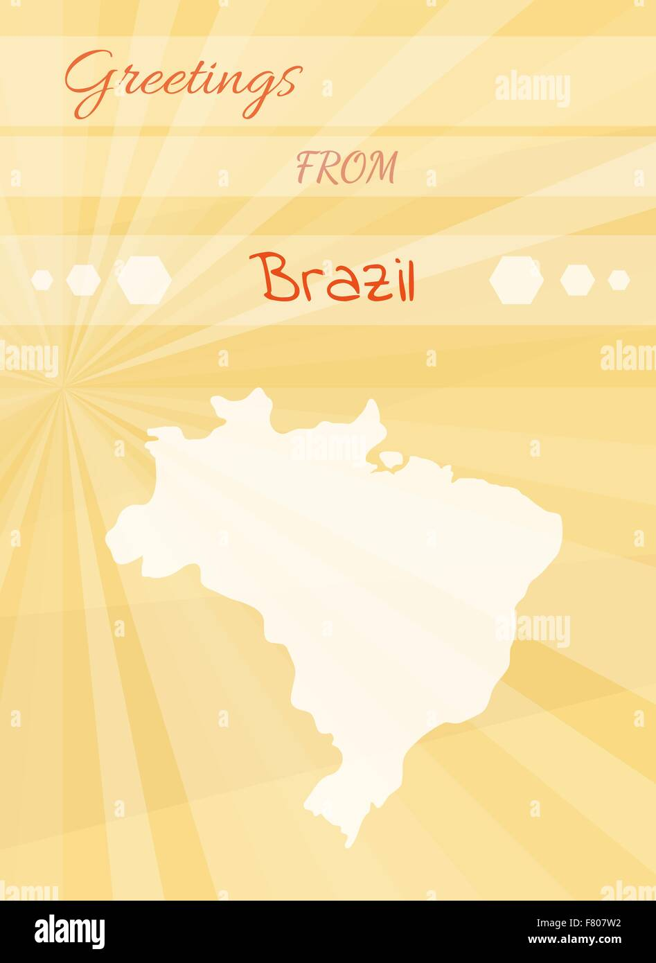 Greetings from brazil stock vector art illustration vector image greetings from brazil m4hsunfo