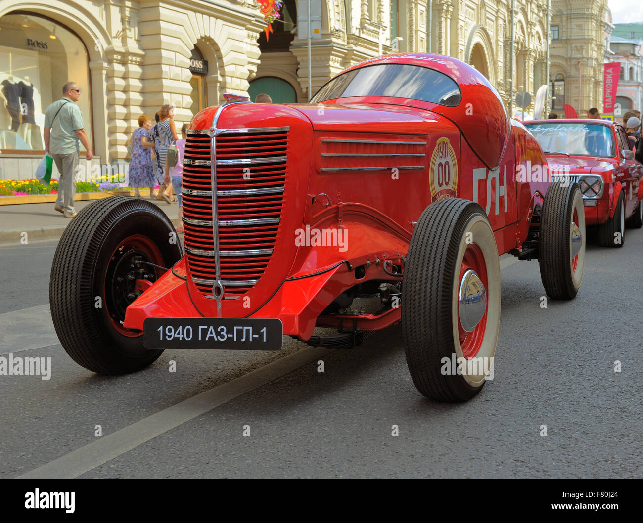 GAZ GL-1, 1940, the first Soviet sports car, rally Gorkyclassic on ...