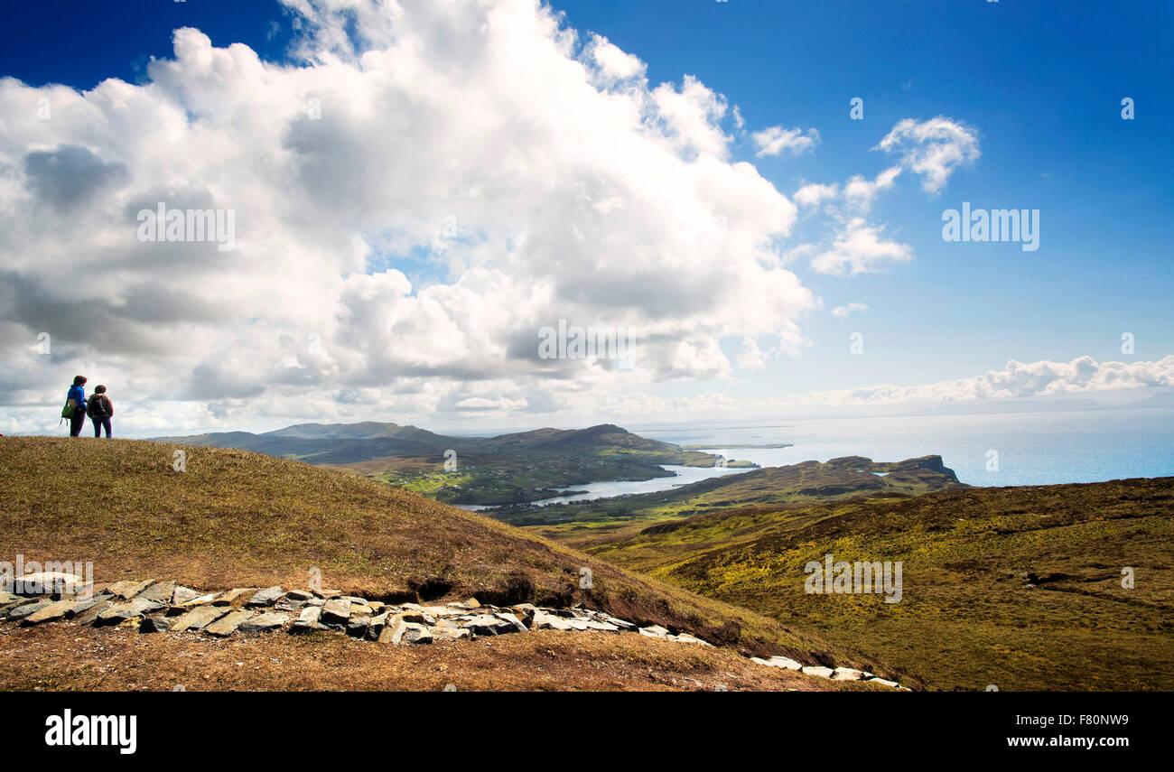 Slieve League, Sliabh Liag, - Stock Image