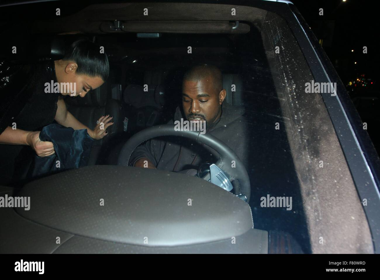 f5f9fb5fcfe1 A heavily pregnant Kim Kardashian and Kanye West attend Kendall Jenner s  Birthday Celebration at The Nice Guy in West Hollywood Featuring  Kanye West