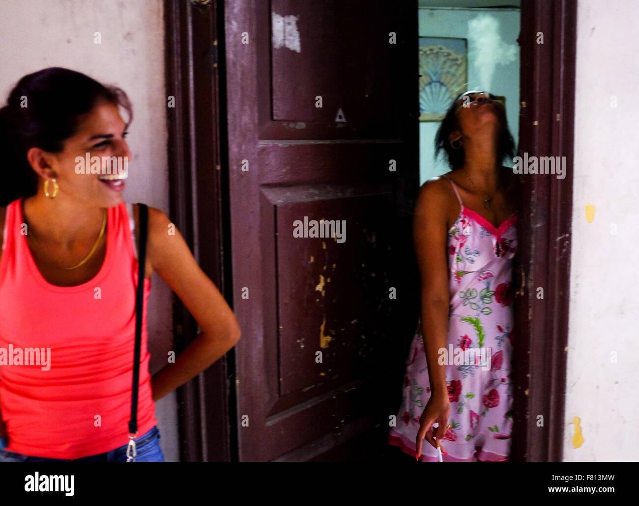 Woman in Havana