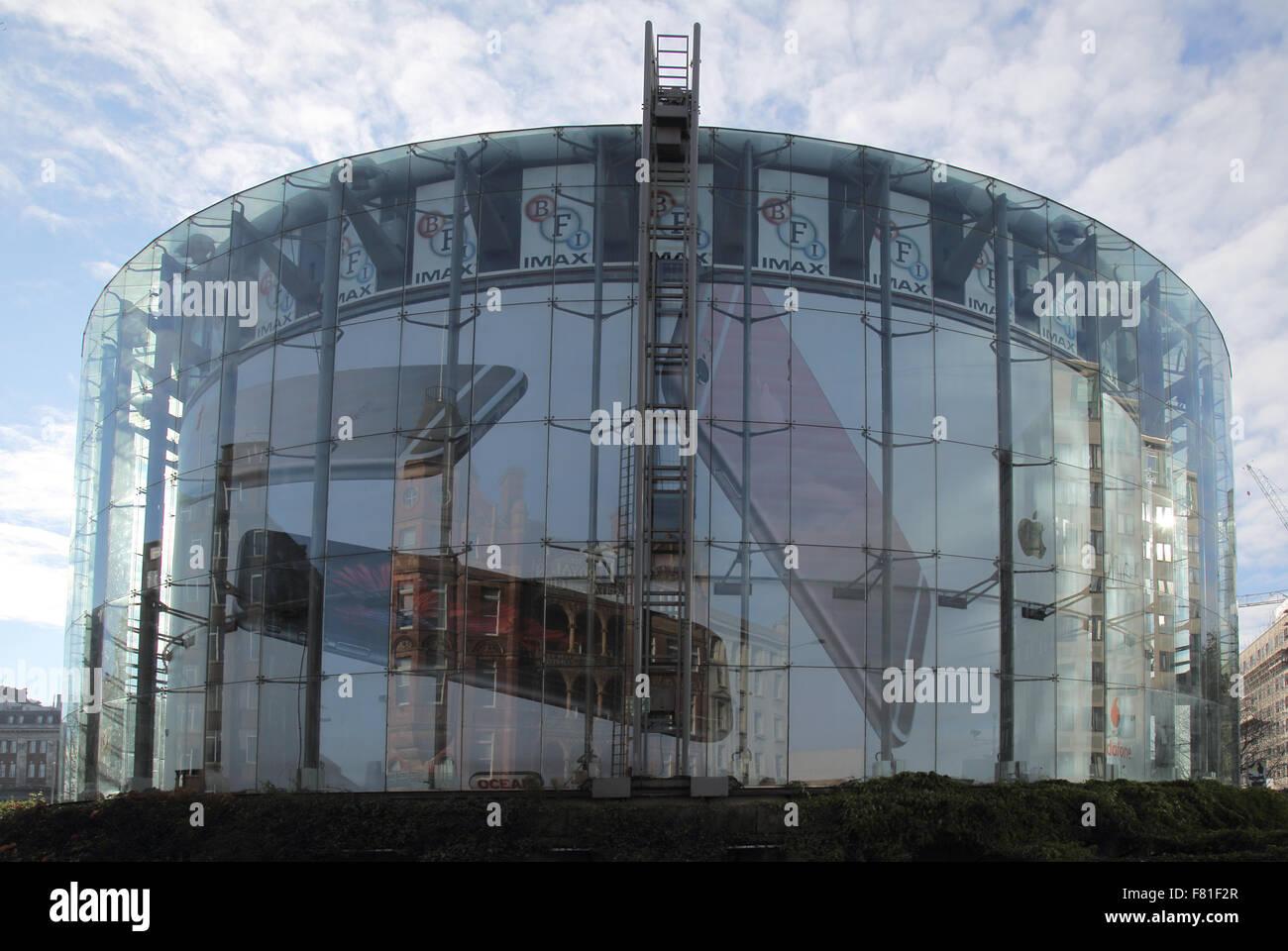 imax 360 degree cinema south bank london england - Stock Image