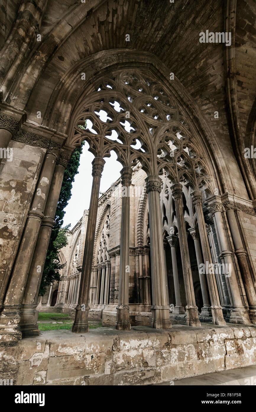 La Seu Vella, Lleida. - Stock Image