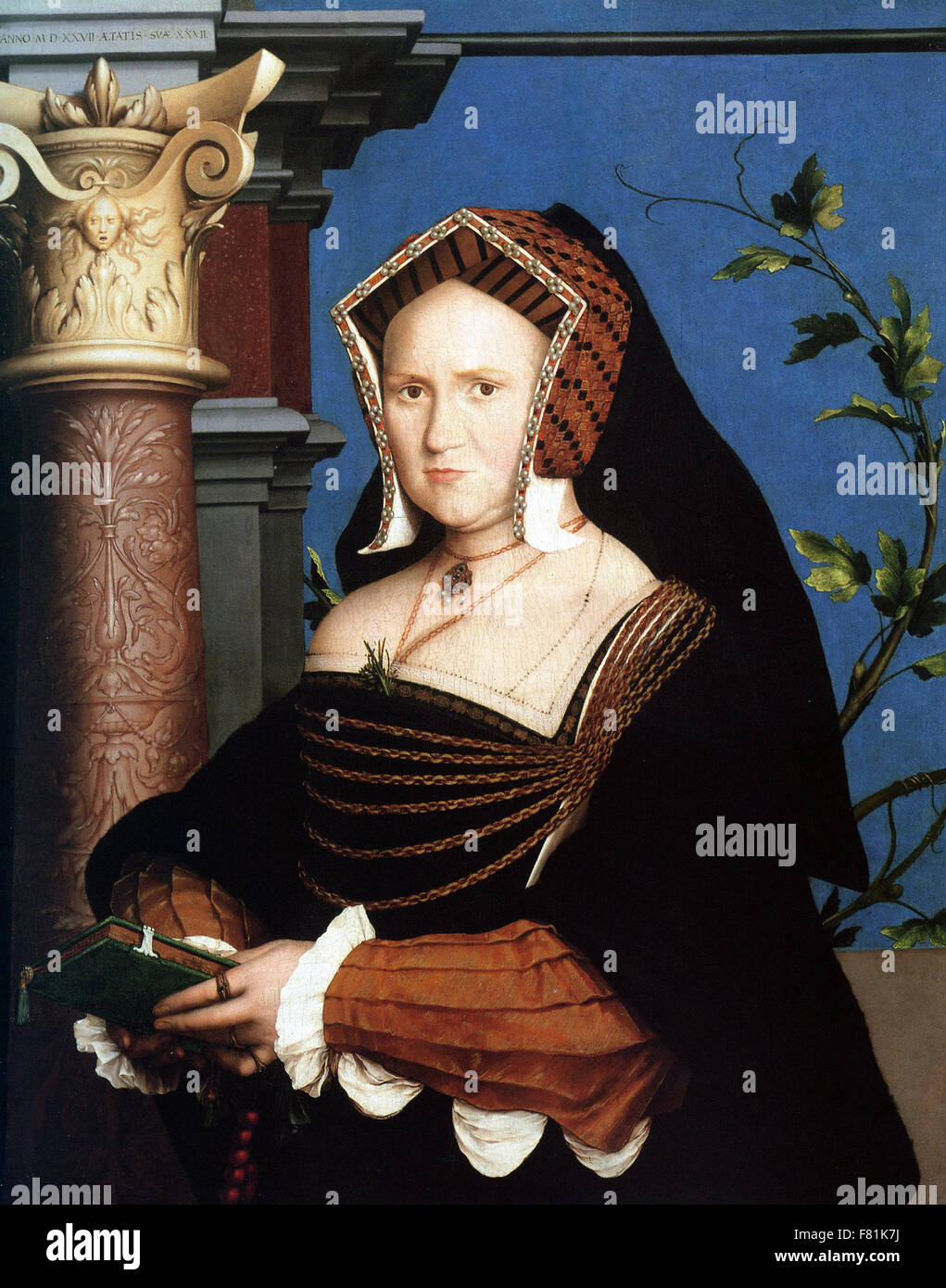 Hans Holbein the Younger - Mary, Lady Guildford - Stock Image