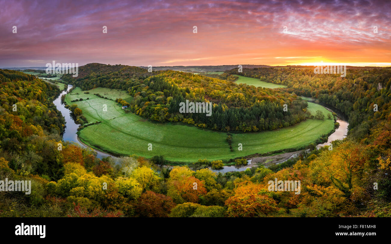 Symonds Yat Rock - Stock Image