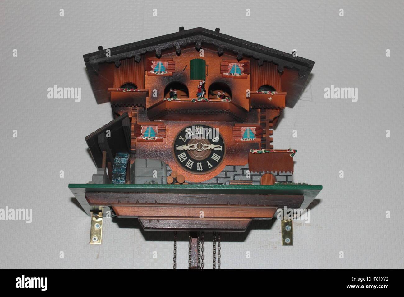 German Black Forest cuckoo clock - Stock Image