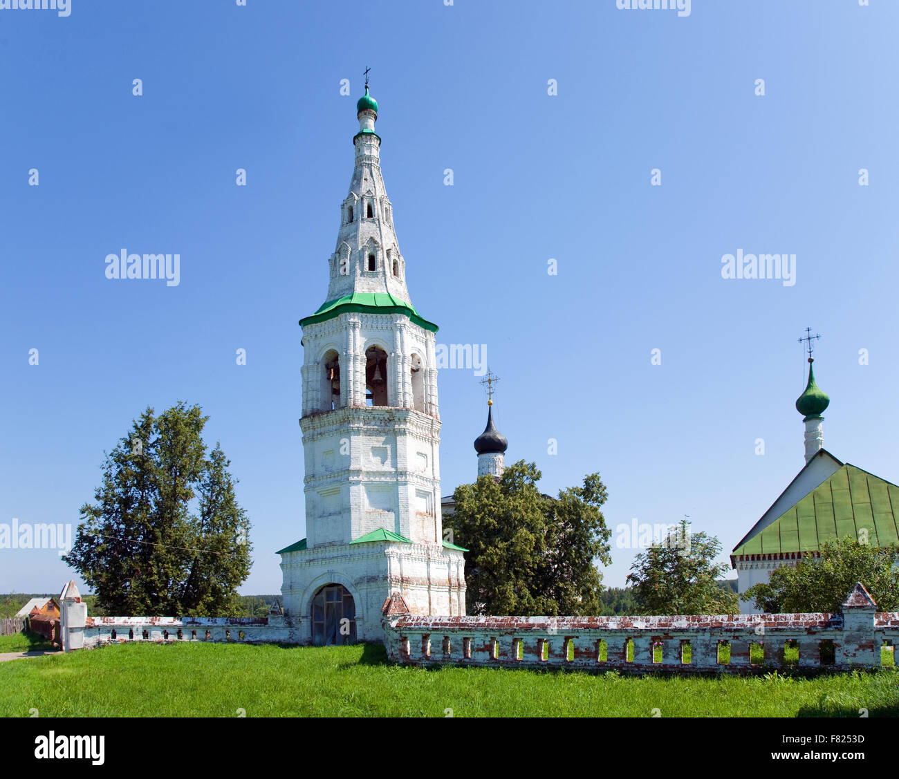 Temple complexes in Kideksha built in the 12th - early 13th century (Russia) - Stock Image