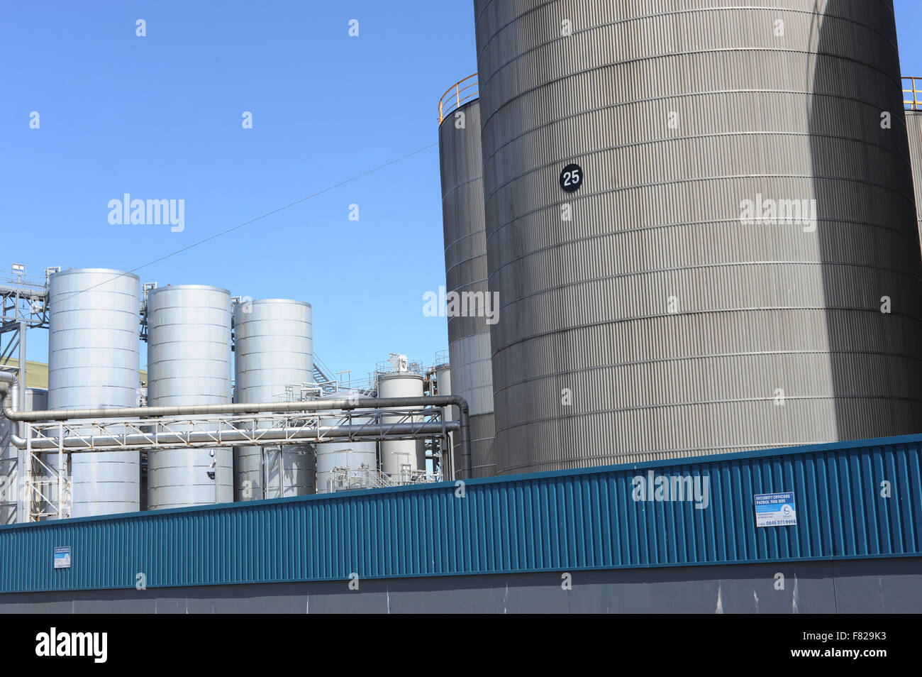 New Britain Oils Limited, 45 Derby Road, Kirkdale, Liverpool, L20 8DY. - Stock Image