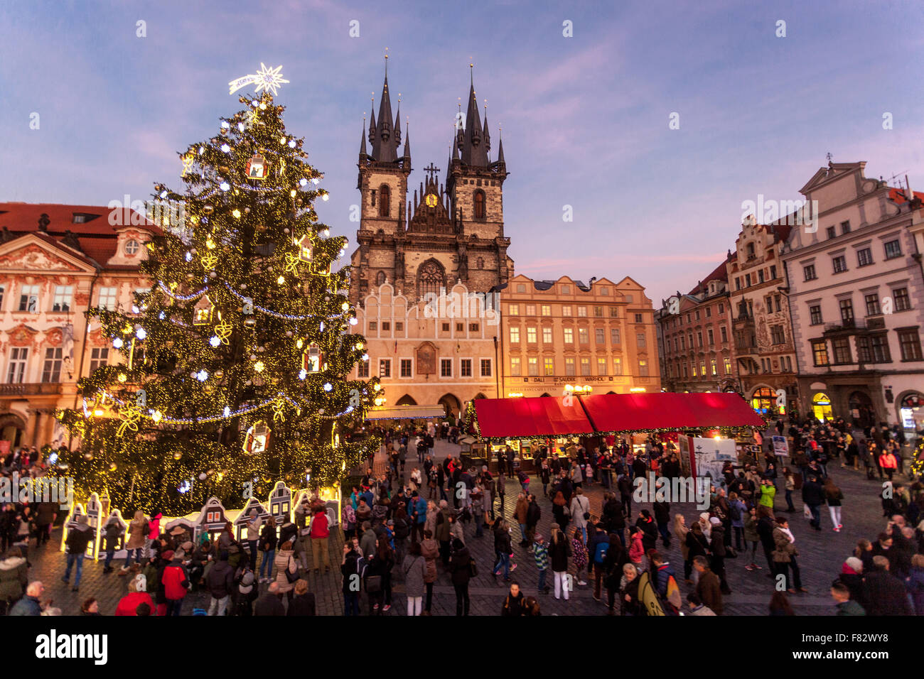Prague Christmas Market Old Town Square Christmas Market