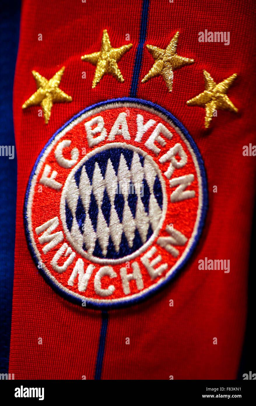 Markennamen: 'FC Bayern Muenchen', Berlin. - Stock Image