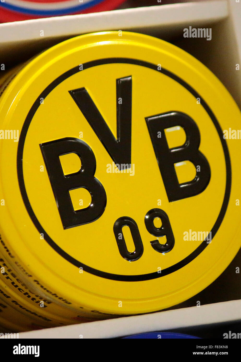 Markennamen: 'BVB Borussia Dortmund', Berlin. - Stock Image