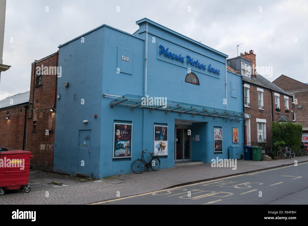 The Phoenix Picture House in Jericho, Oxford, United Kingdom - Stock Image