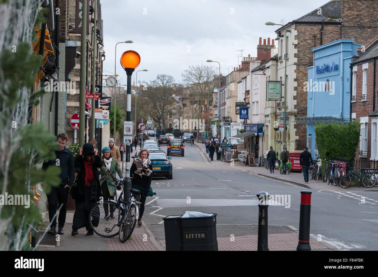 Jericho, Oxford, United Kingdom - Stock Image