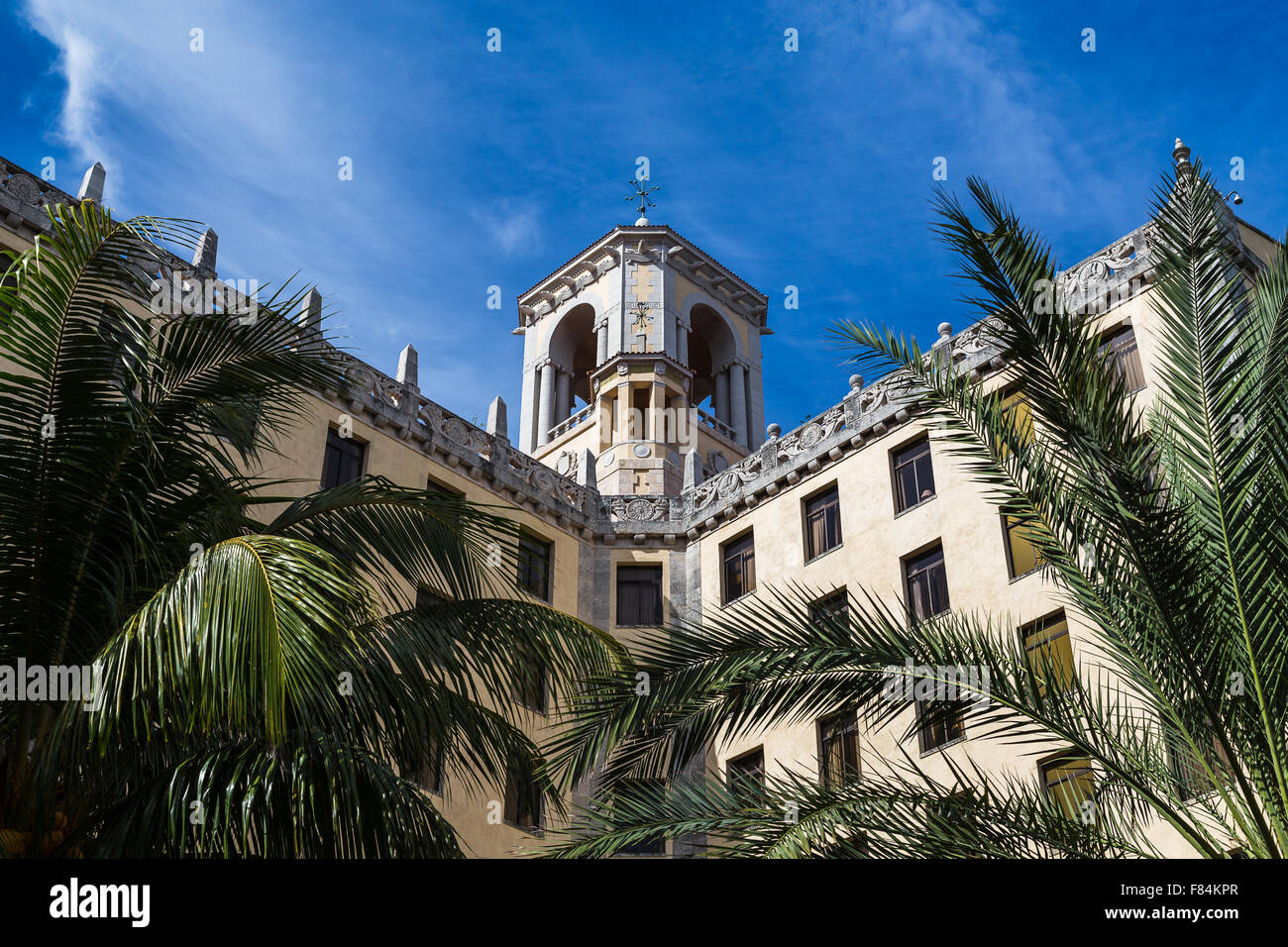 Hotel Nacional de Cuba (tower) - Stock Image