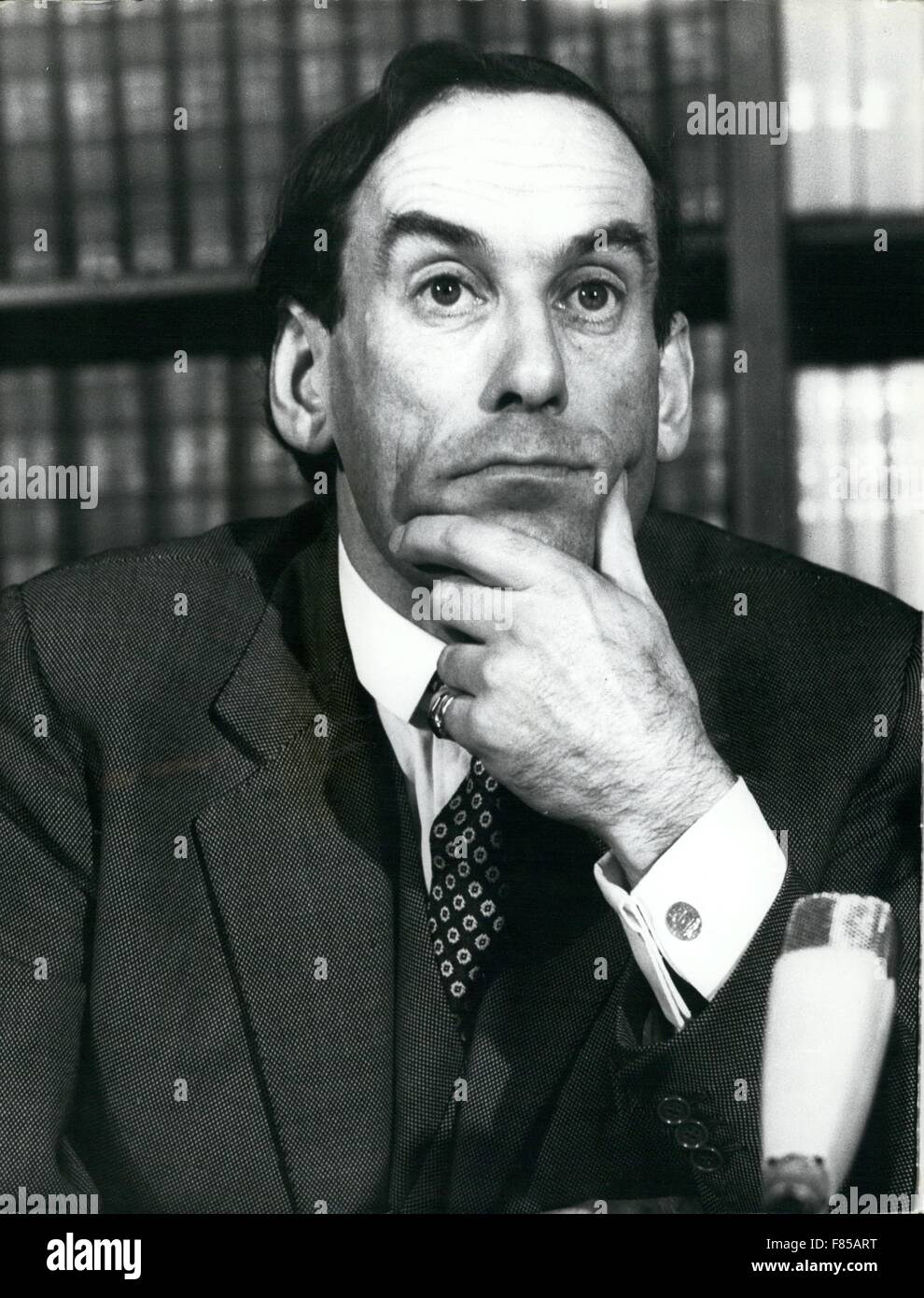 1968 - A study of Mr. Jeremy Thorpe © Keystone Pictures USA/ZUMAPRESS.com/Alamy Live NewsStock Photo