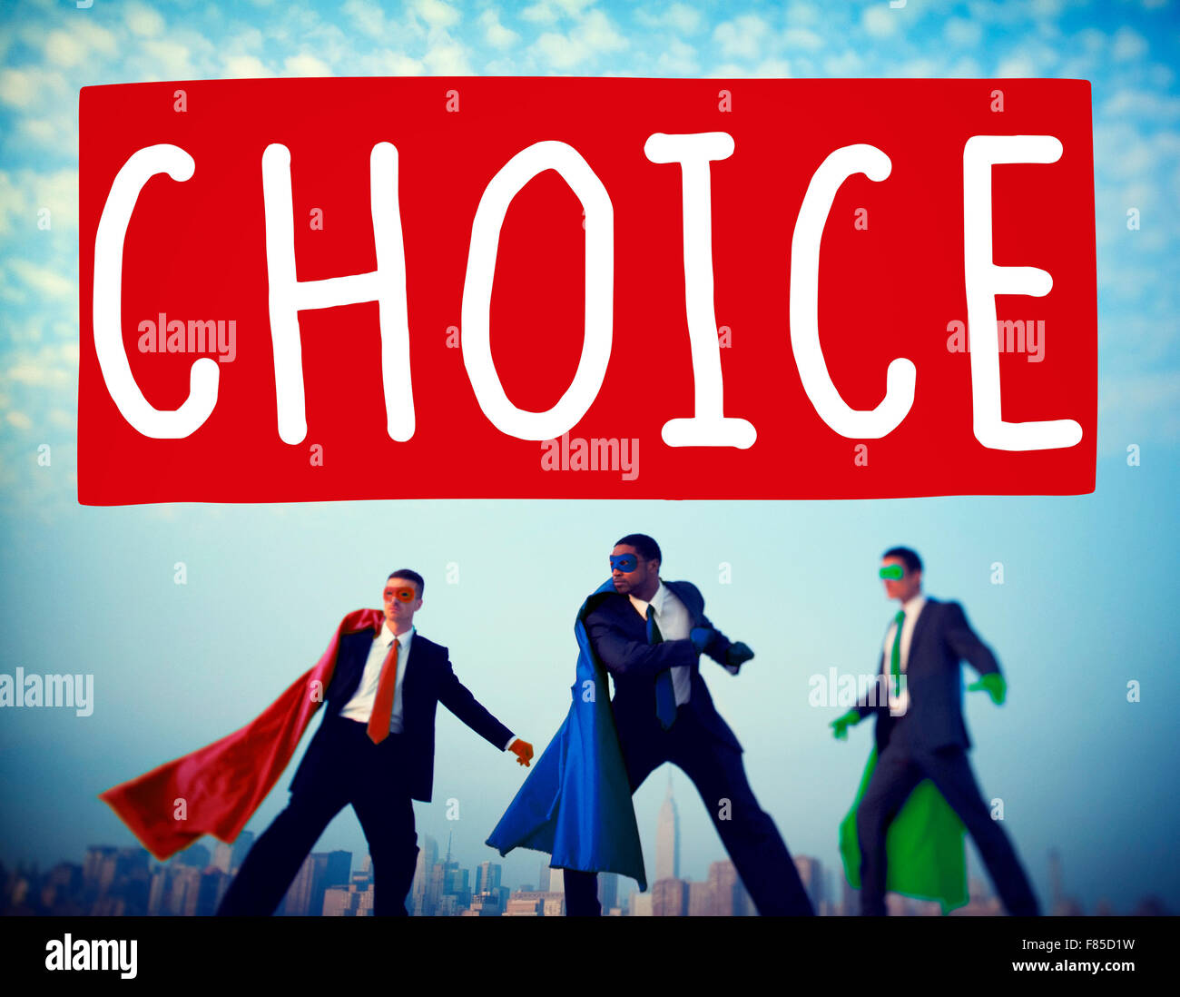 Choice Challenge Making Decision Selection Concept - Stock Image