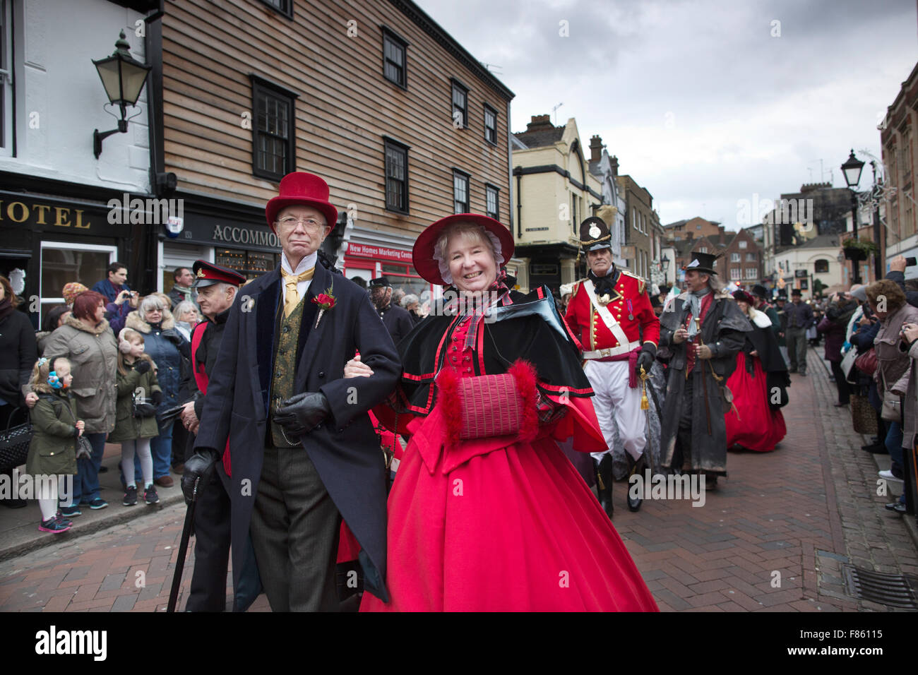annual dickensian christmas festival to commemorate and celebrate the life of charles dickens rochester kent united kingdom - Dickens Christmas Festival