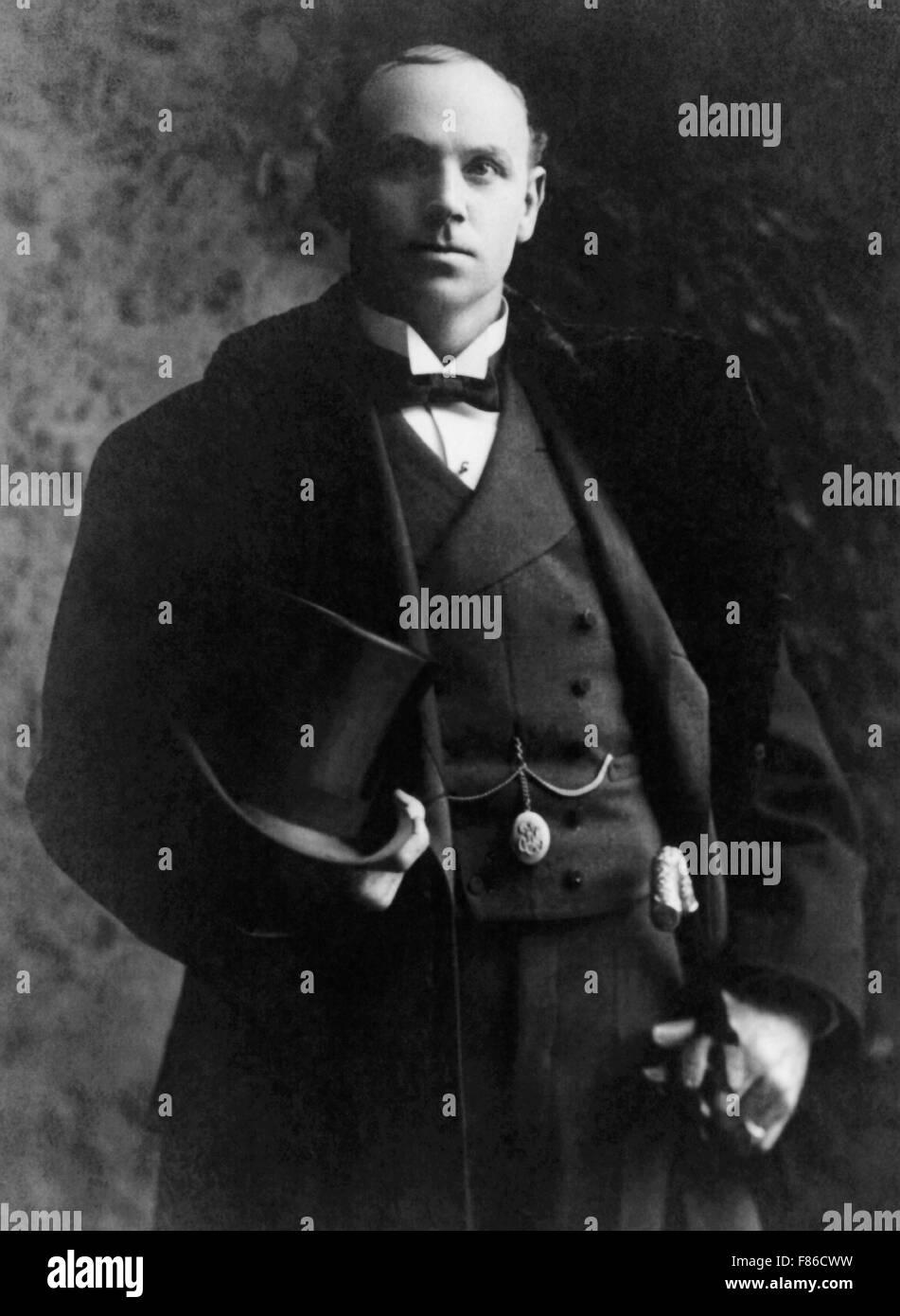Vintage Portrait Photo Of Boxer Bob Fitzsimmons 1863
