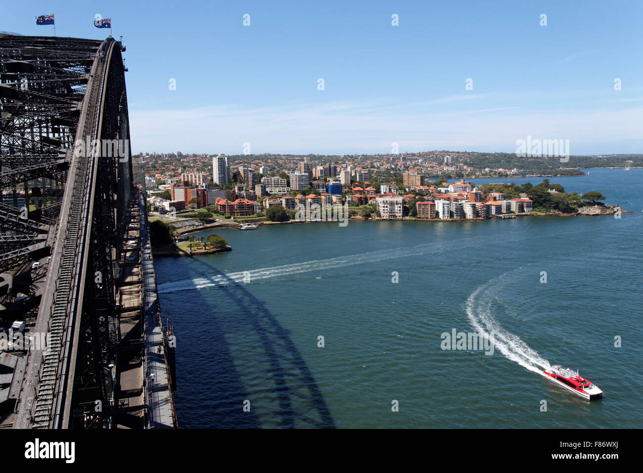 View from the Pylon Lookout I Sydney I Australia - Stock Image