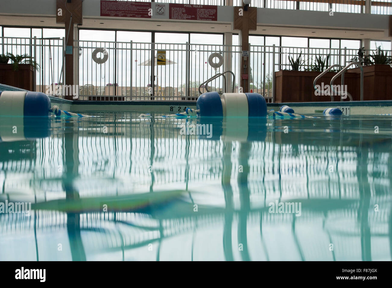 Water-level shot of hotel swimming pool Stock Photo: 91137338 - Alamy