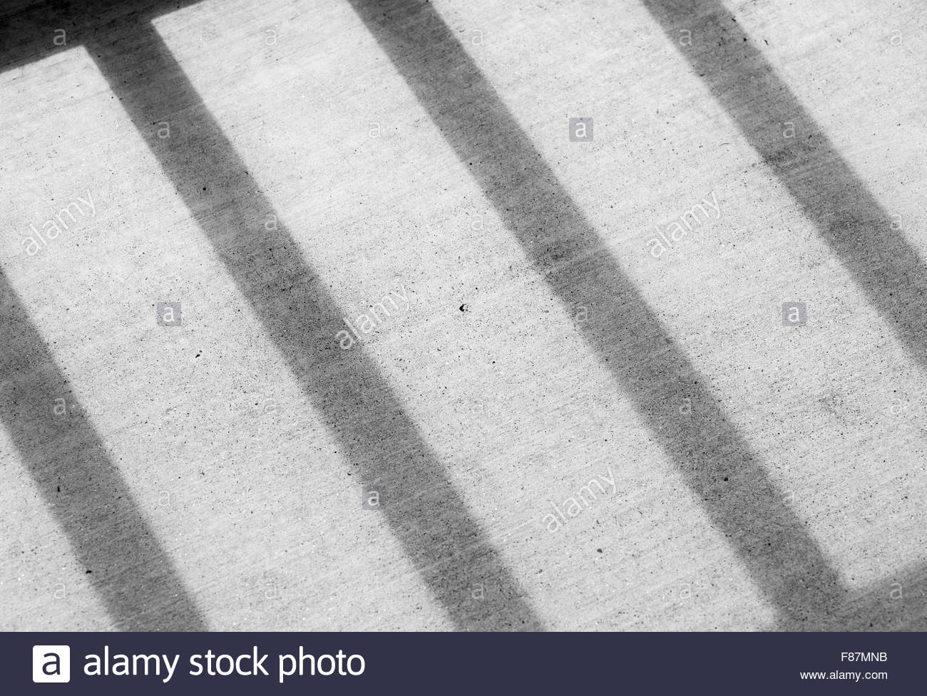 shadows, concrete, lines, shapes, patterns, abstract. - Stock Image