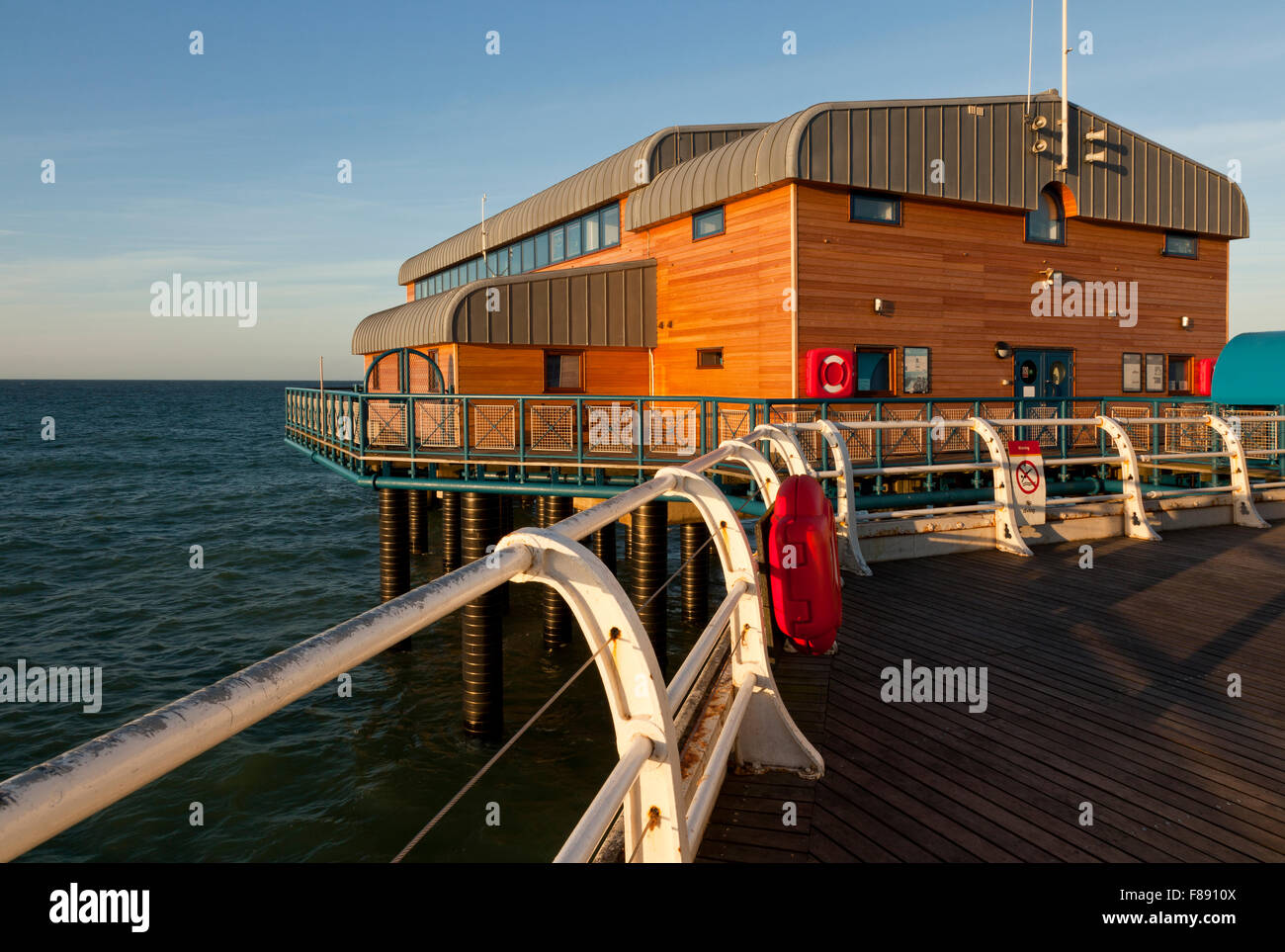 Cromer life boat station, Norfolk England UK - Stock Image