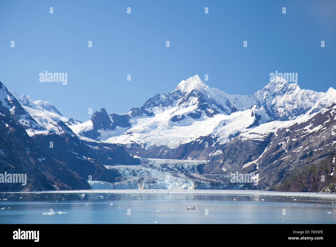 Glacier Bay Park in Alaska - Stock Image