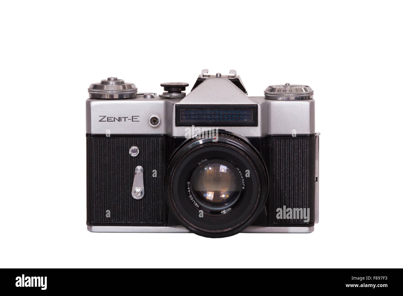 Zenith E / Zenit E single lens reflex SLR from Soviet Union Russia / USSR / Russian made classic amateur 35mm manual - Stock Image