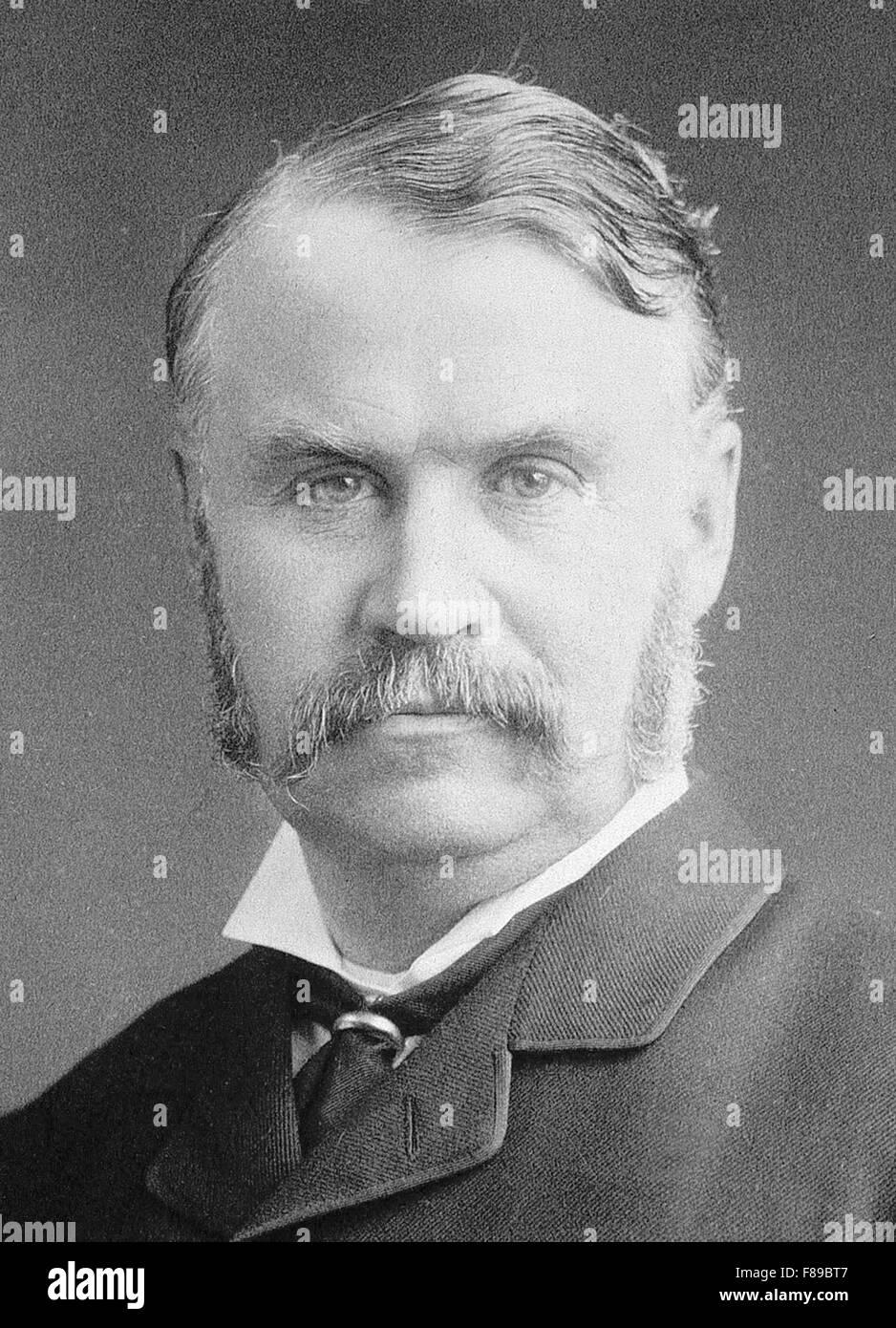 Sir William Schwenck Gilbert, English dramatist - Stock Image