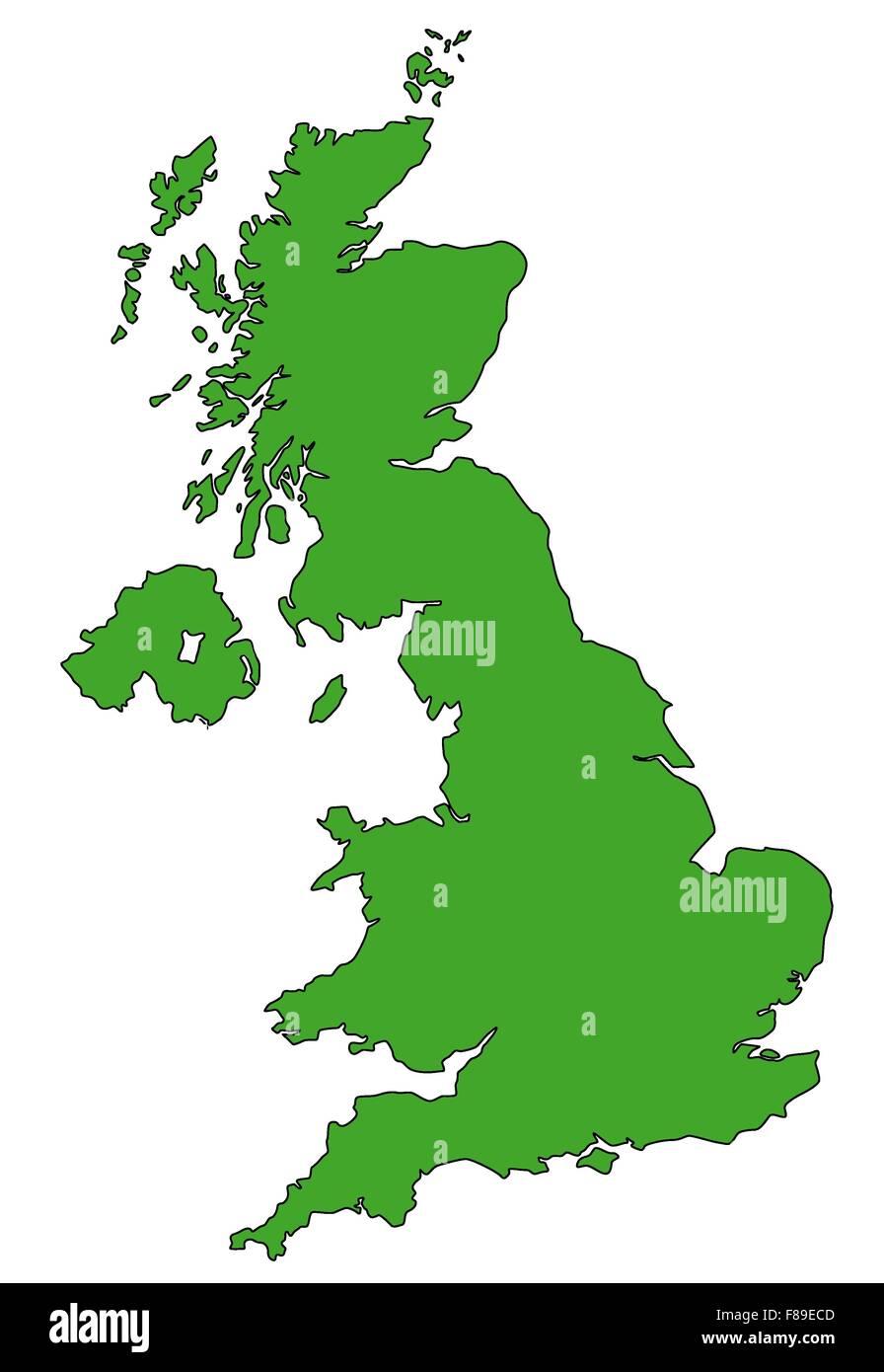 Map Of England Ireland Scotland And Wales.England Ireland Scotland Wales Map Stock Photos England Ireland